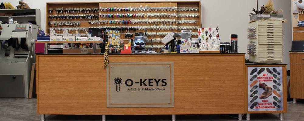 O-Keys Schlüsseldienst - Ladenlokal Pfungstadt